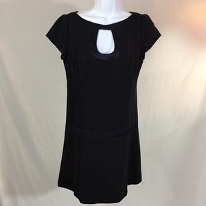 Nanette Lepore Black A-Line Dress Size 4